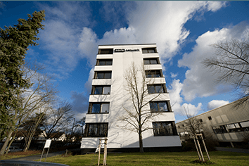 Die Unternehmenszentrale der noris network AG