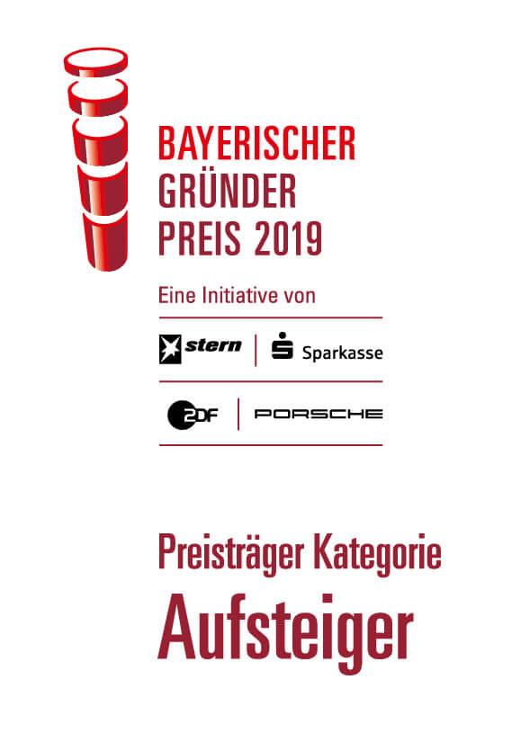 Bayerischer Gründerpreis 2019