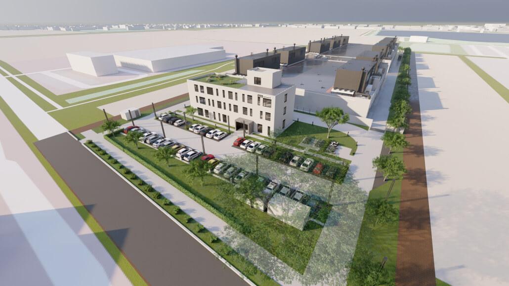 Rechenzentrum München Ost vom Colocation-Anbieter noris