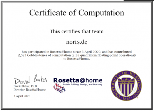 Rosetta@home